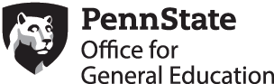 Penn State Office for General Education wordmark